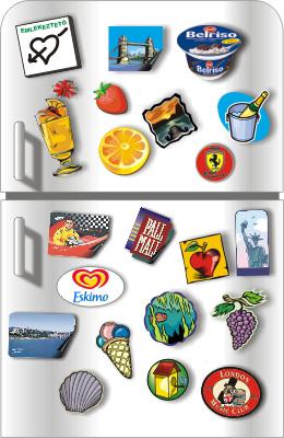 Hűtőmágnes gyártás minden méretben,tetszőleges alakban,rövid határidőre.